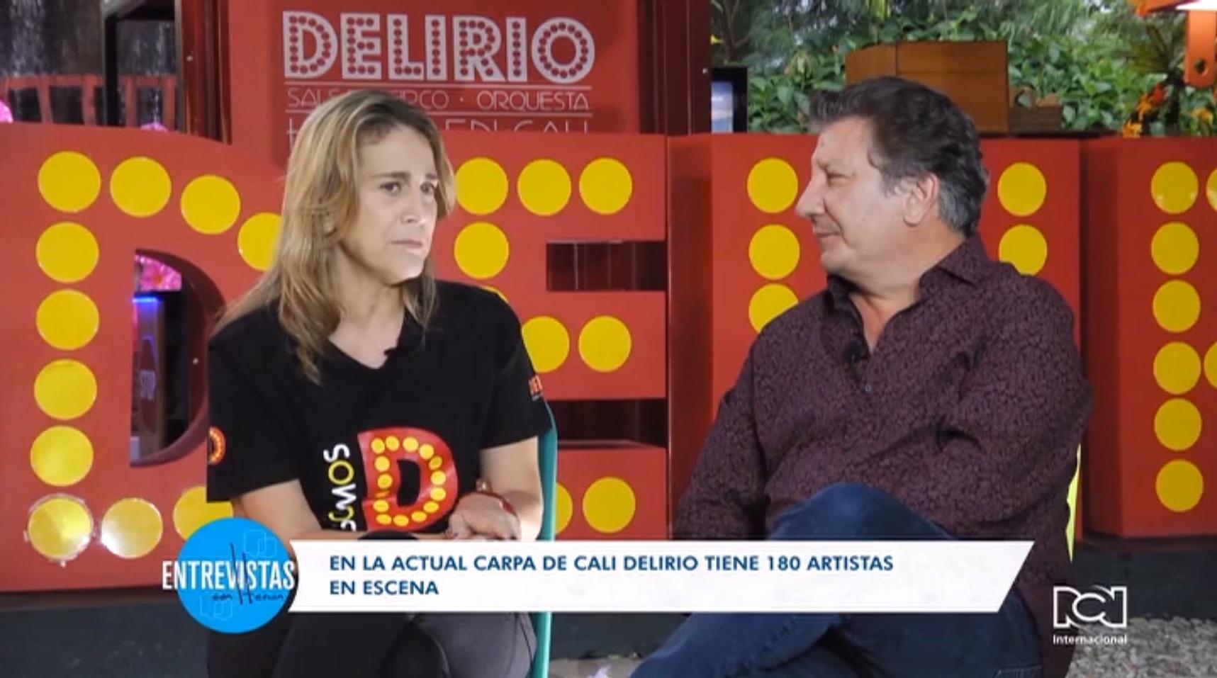 Andrea Buenaventura habló sobre el origen de 'Delirio' en Entrevistas con Hernán