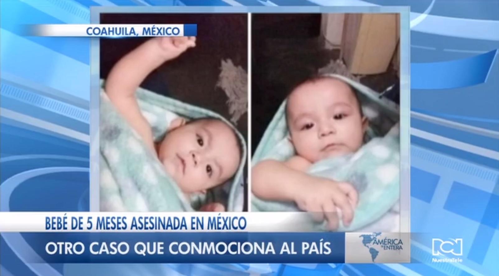 Encuentran cuerpo de niña de 5 meses que había sido reportada como robada en México