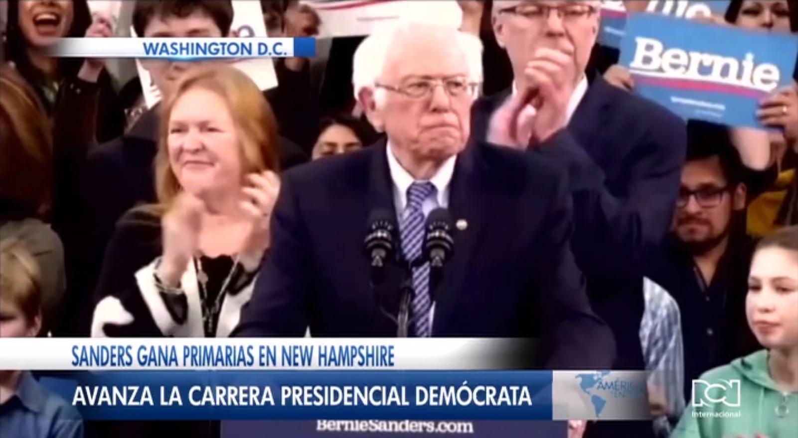 Bernie Sanders se impuso en las primarias de New Hampshire y lidera la carrera por la nominación demócrata