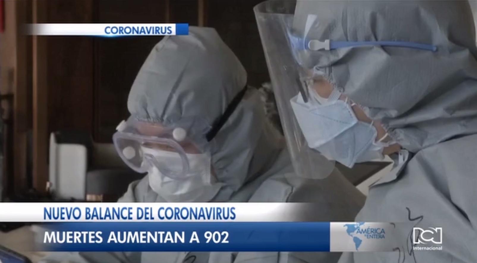 Elevan a 902 el número de víctimas mortales por coronavirus en China