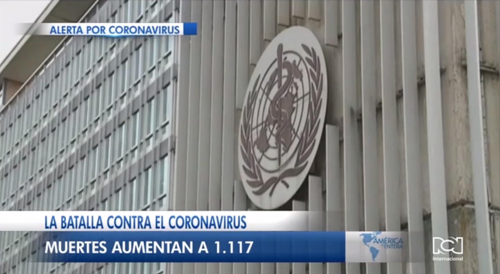 OMS declara el coronavirus como el enemigo público número uno en el mundo
