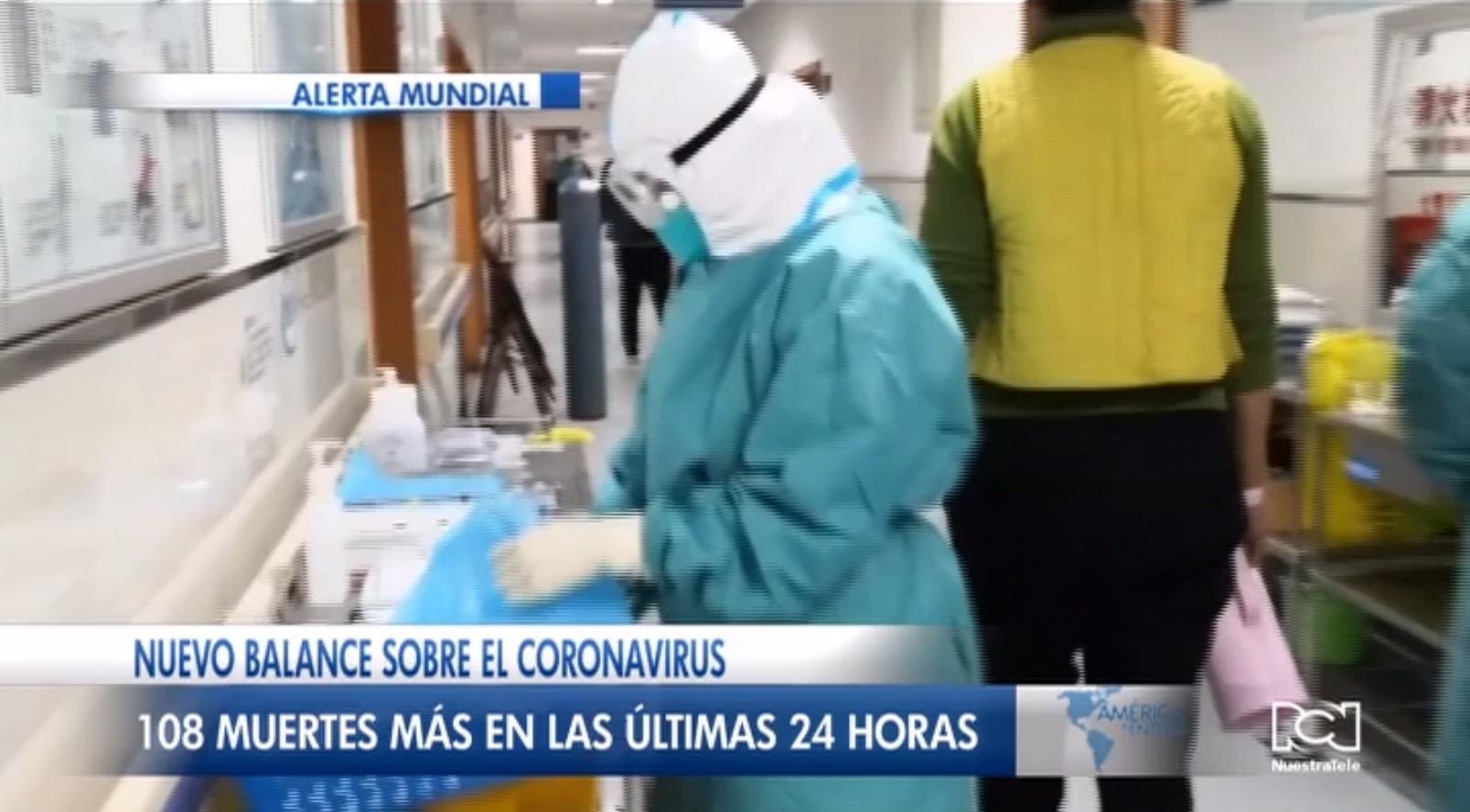 China reporta la cifra de muertes más alta a causa del coronavirus en solo 24 horas