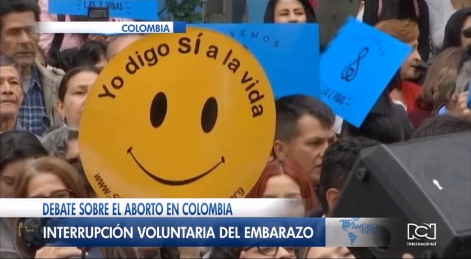 Legalización del aborto vuelve a estar sobre la mesa del debate en Colombia