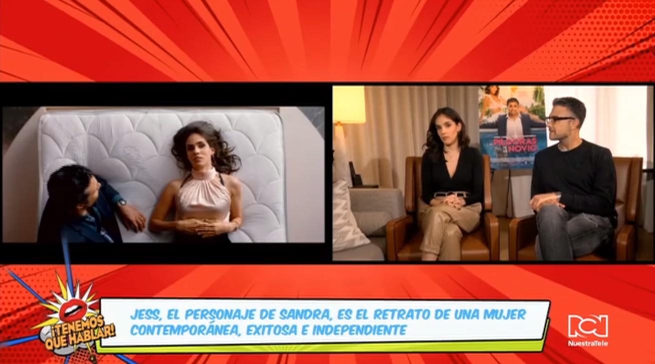 Hablamos con Jaime Camil y Sandra Echeverría sobre el estreno de la comedia 'Las píldoras de mi novio'
