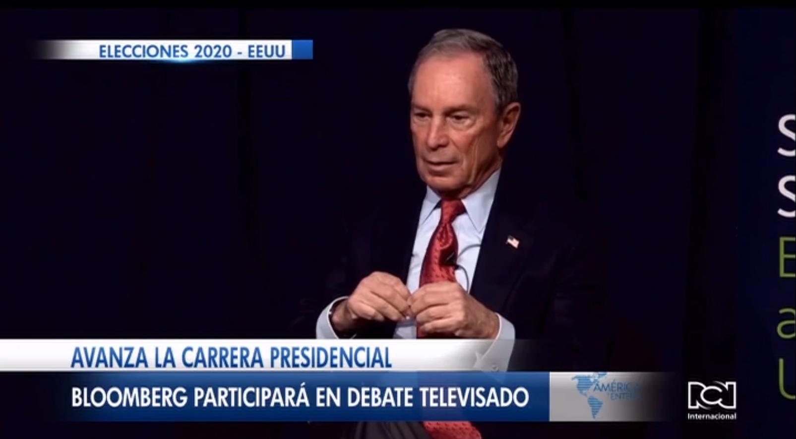 Michael Bloomberg participará en el debate televisado de las primarias demócratas en Nevada