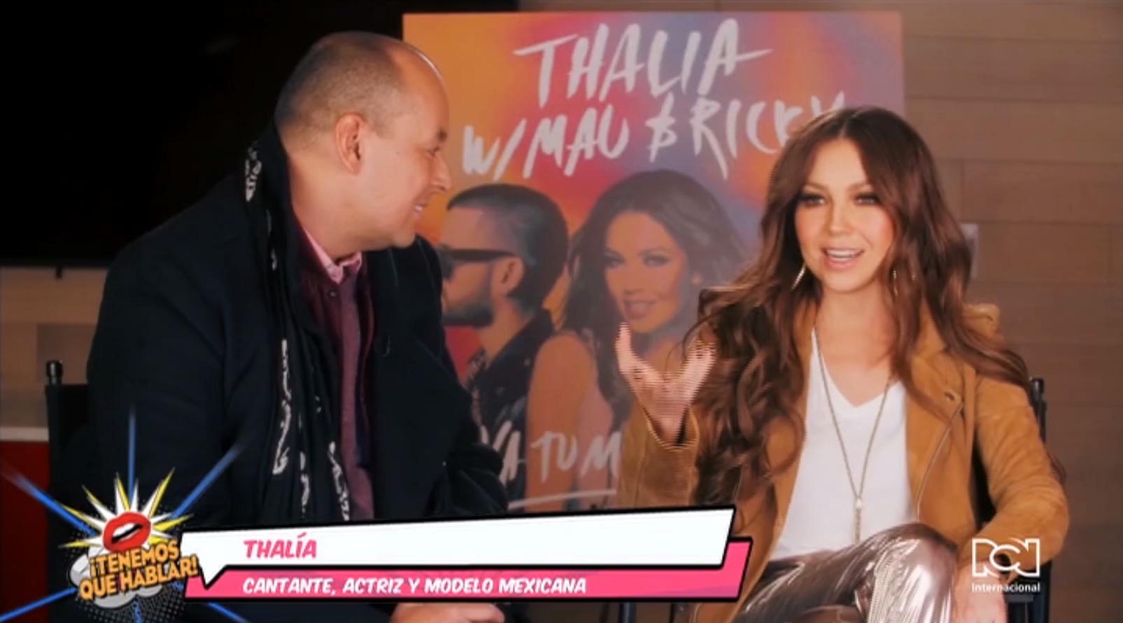 """Thalía: """"El reguetón o el género urbano es el nuevo pop"""""""
