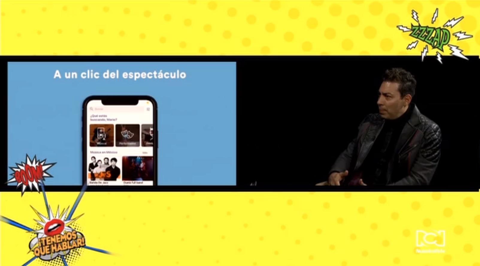 Mario Molinares creó una aplicación para contratar servicios de entretenimiento en la puerta de tu casa