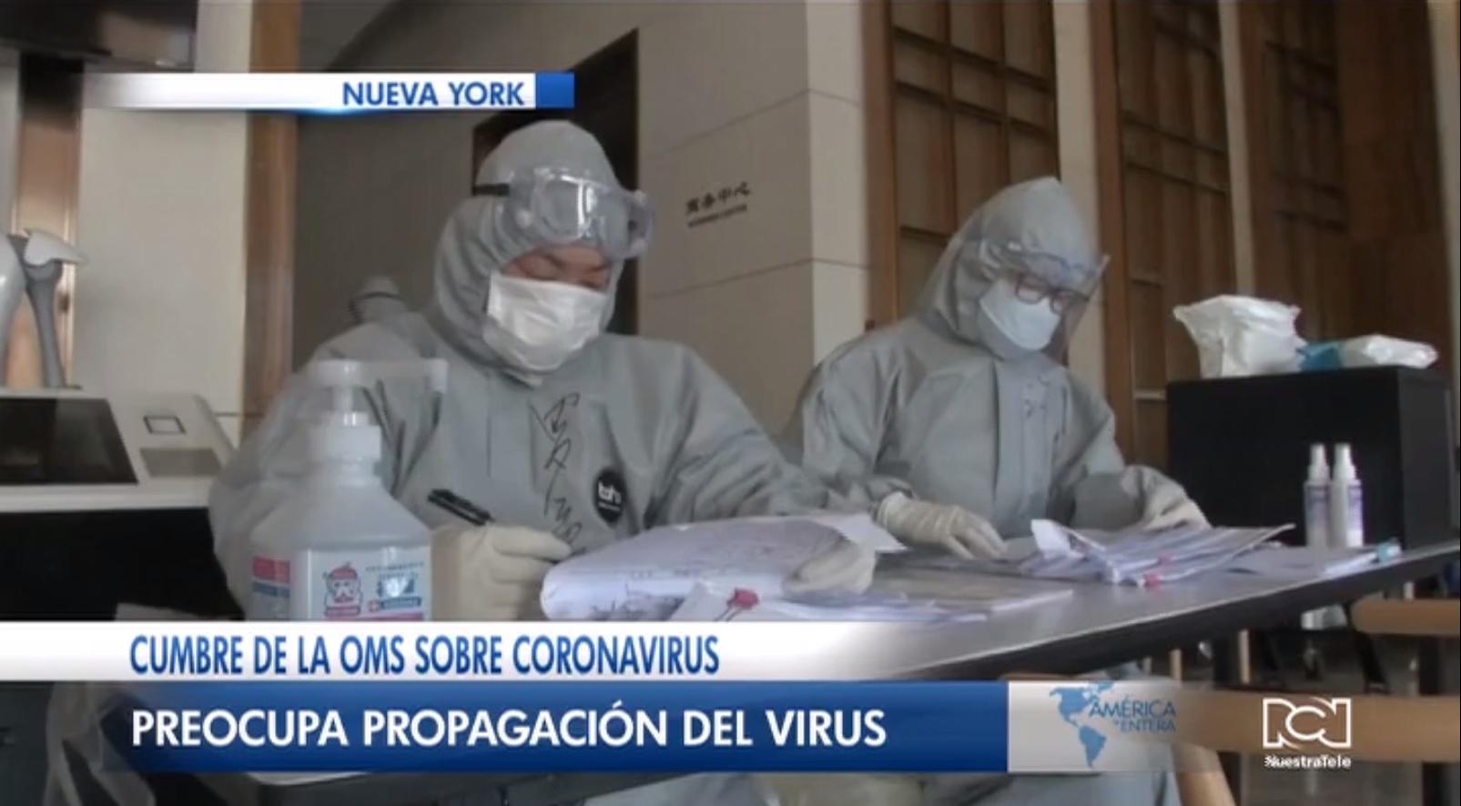 OMS convoca a científicos de todo el mundo para desarrollar una vacuna contra el coronavirus