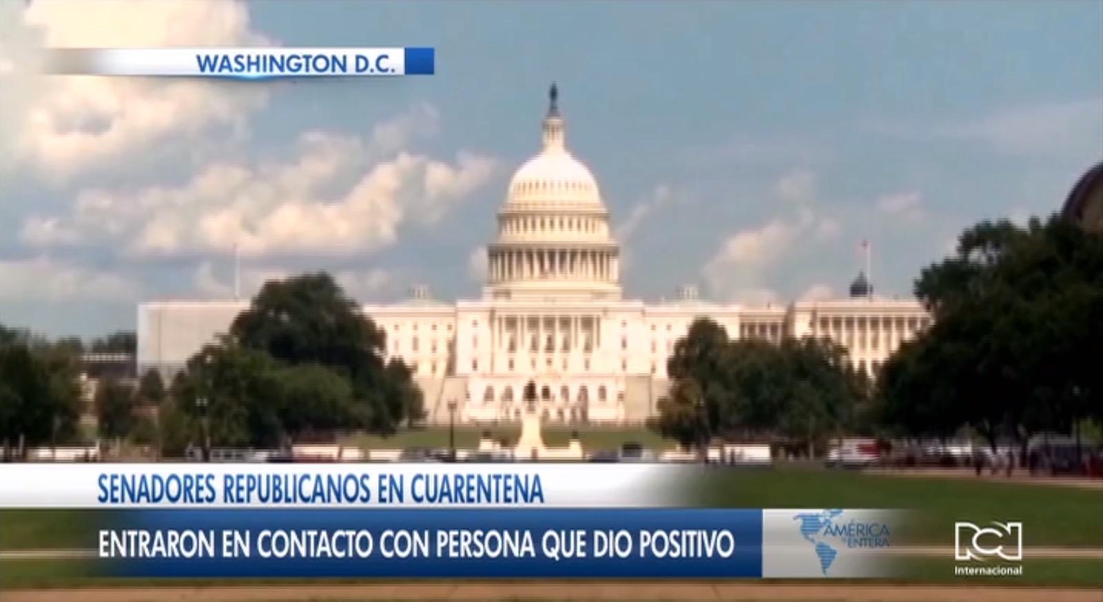 Alerta por coronavirus llegó al Capitolio de EE. UU.: Dos congresistas republicanos entraron en cuarentena voluntaria