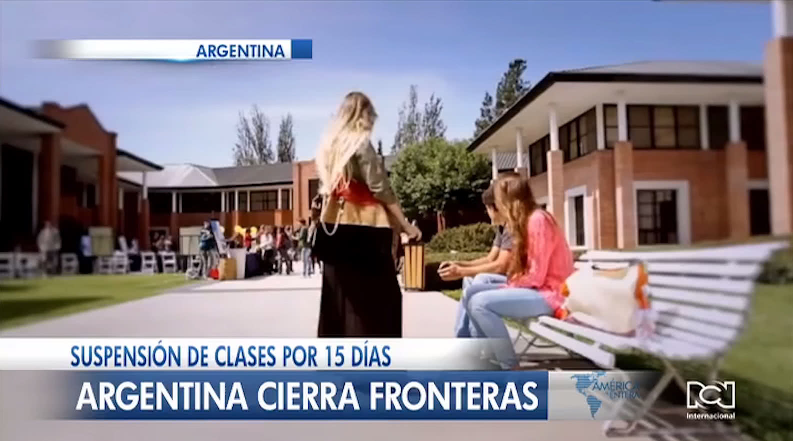 Presidente Alberto Fernández ordena el cierre de fronteras y anuncia la suspensión de clases en Argentina