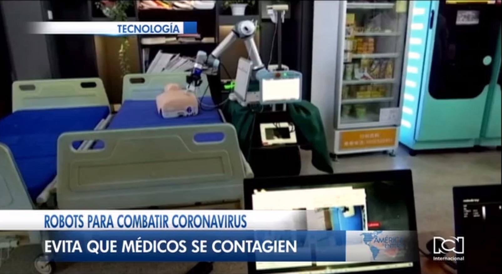Desarrollan brazo robótico para examinar pacientes contagiados de coronavirus