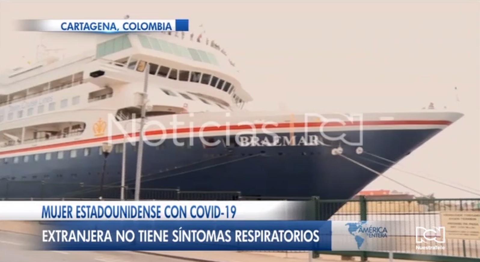 Colombia investiga por qué desembarcó en Cartagena un crucero con personas contagiadas con coronavirus