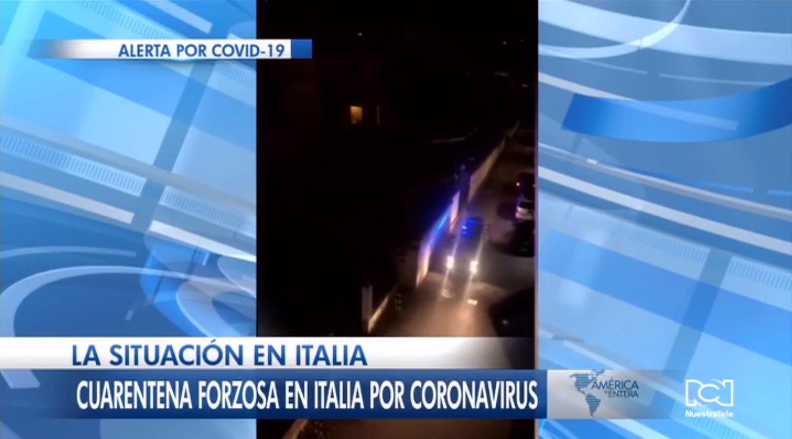 Así se vive la cuarentena forzosa en Italia por el coronavirus