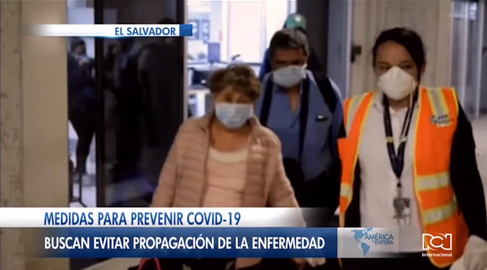 El Salvador prohíbe el ingreso de extranjeros para evitar la llegada del coronavirus al país