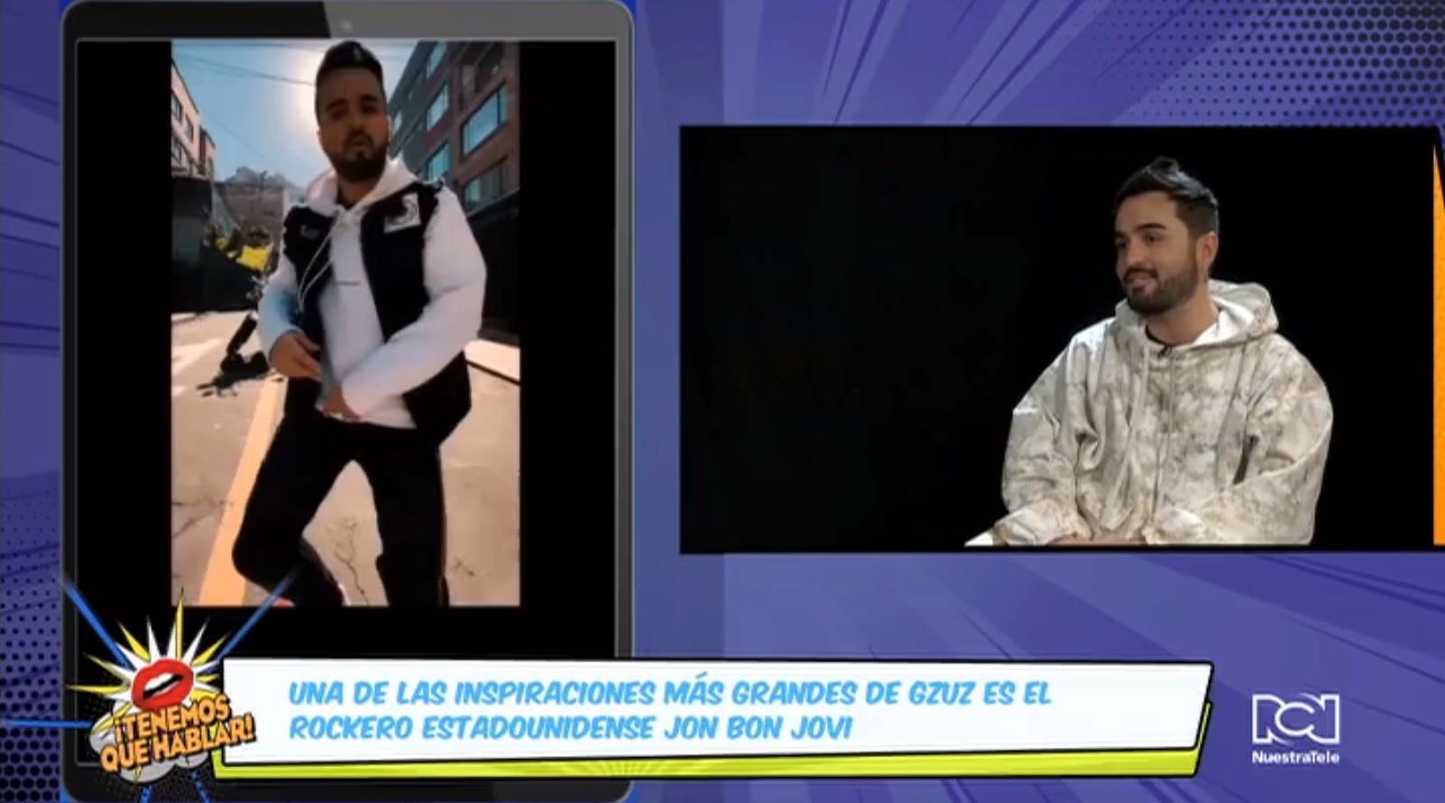 El cantante colombiano Gzuz llegó a Nueva York para promocionar 'Lo que parece', su más reciente single