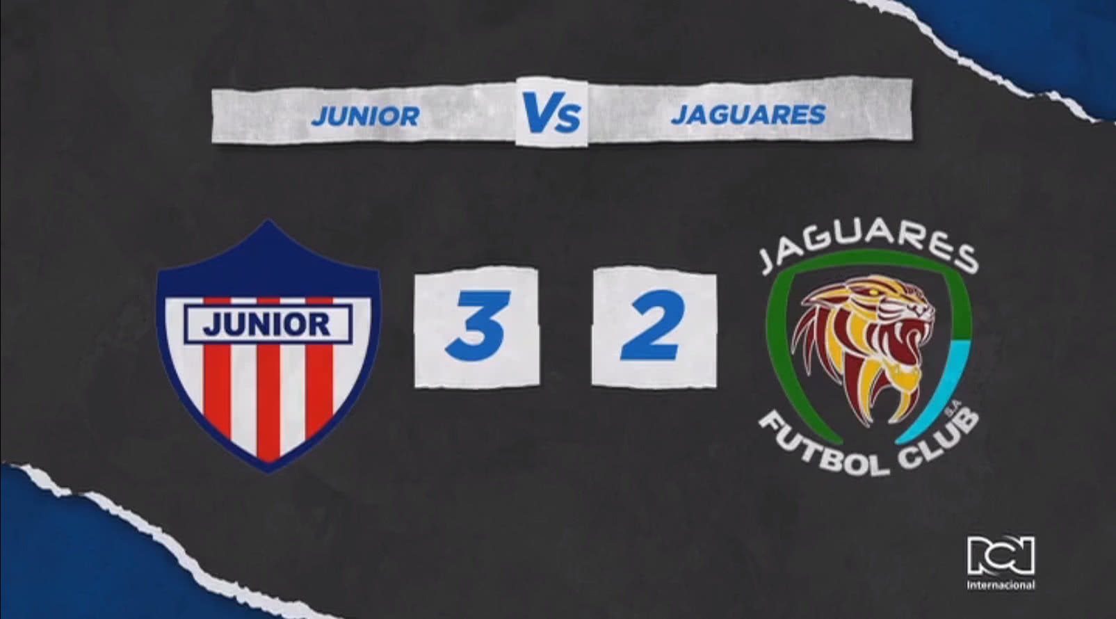 Atlético Junior logró un agónico triunfo frente a Jaguares y sigue en la lucha por la clasificación