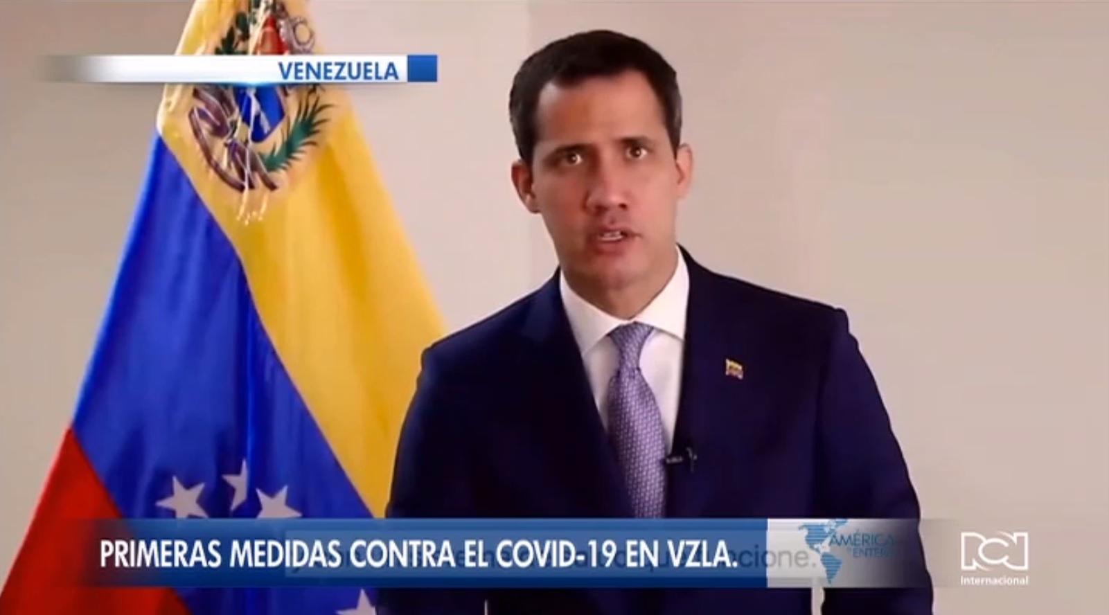 Juan Guaidó anuncia medidas para evitar la llegada del coronavirus a Venezuela