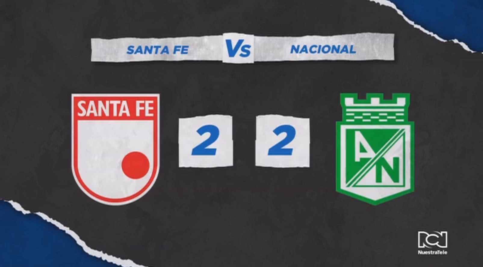 Independiente Santa Fe Vs Atlético Nacional