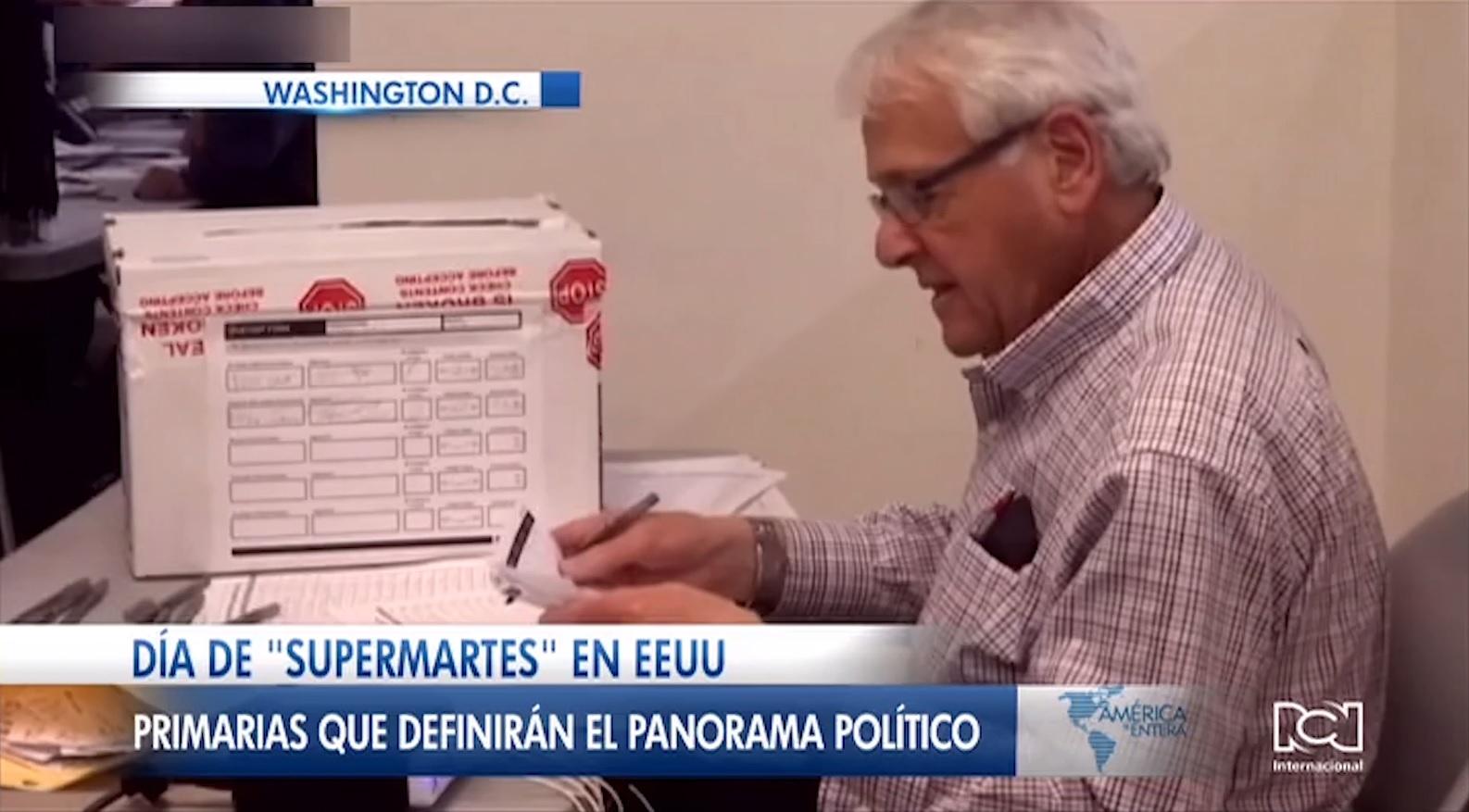 Supermartes en Estados Unidos: 14 estados de la Unión Americana celebran elecciones primarias