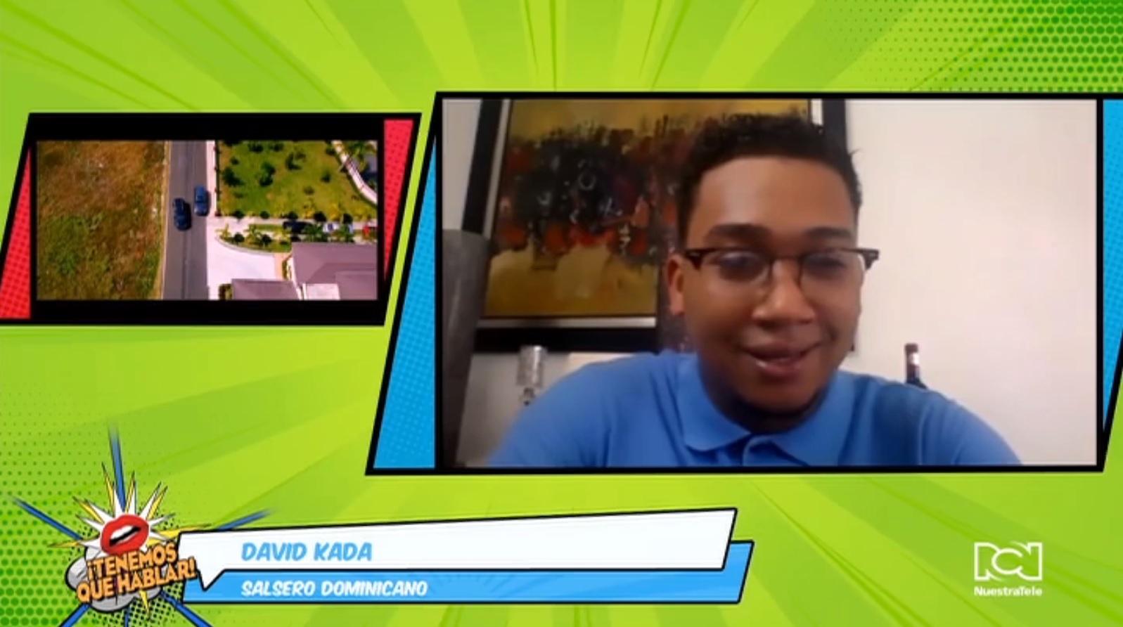 """David Kada es tendencia en las estaciones de radio de República Dominicana con los sencillos """"Tú eres la mía"""" y """"El amor de su vida"""""""