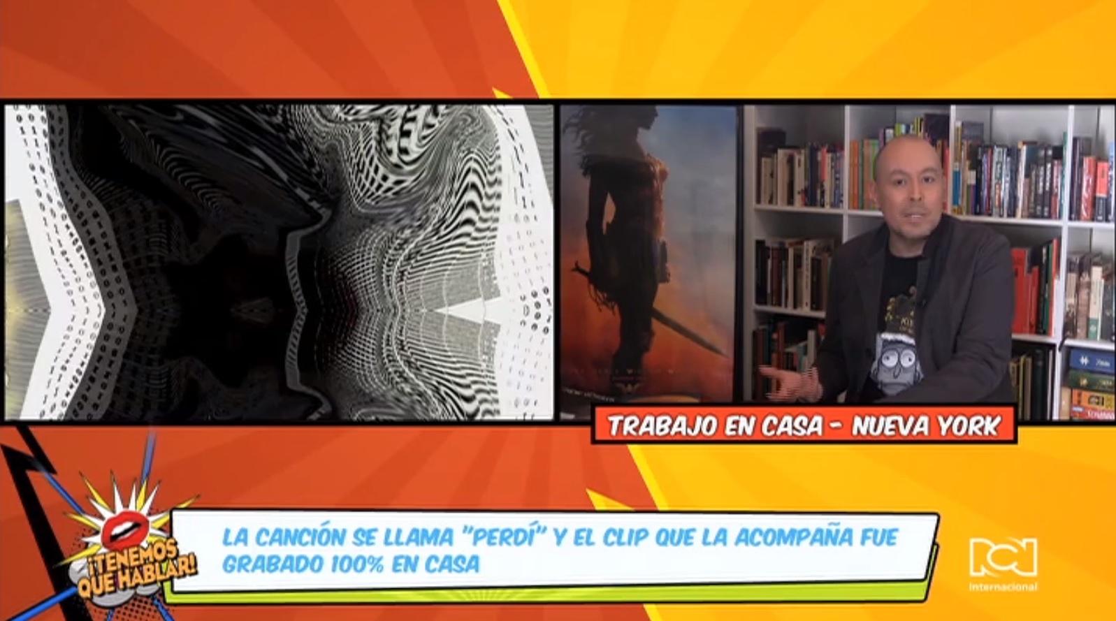 """Tenemos en exclusiva el lanzamiento mundial del video del sencillo """"Perdí"""" del argentino Enrique Campos"""