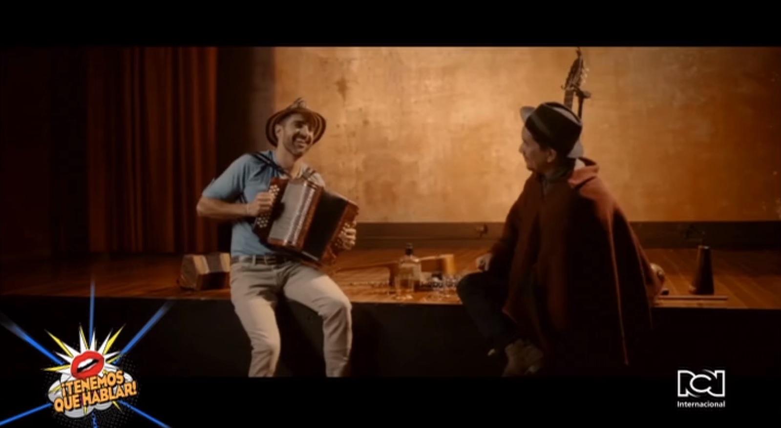 """Gregorio Uribe lanzó el video de la canción """"Media Naranja"""" junto a Jorge Villamizar"""