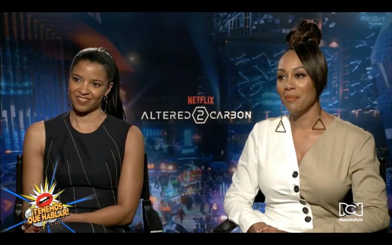 """Hablamos con Simone Missick y Renee Elise Goldsbery sobre la segunda temporada de """"Altered Carbon"""""""