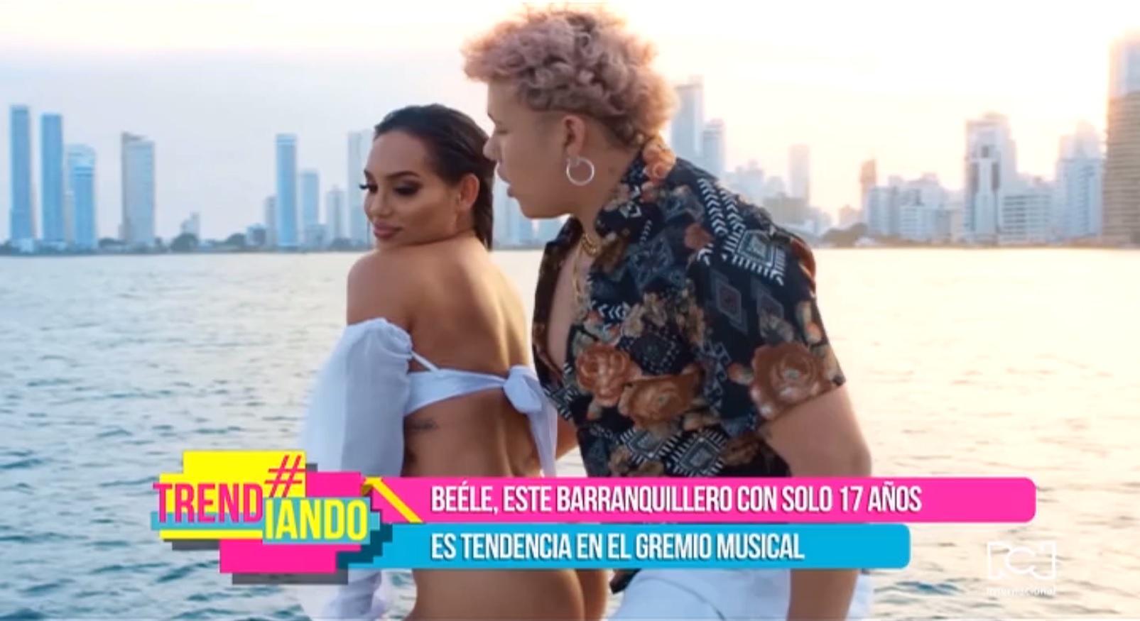 """Beéle extiende el éxito de """"Loco"""" con un remix junto a Natti Natasha, Farruko y Manuel Turizo"""
