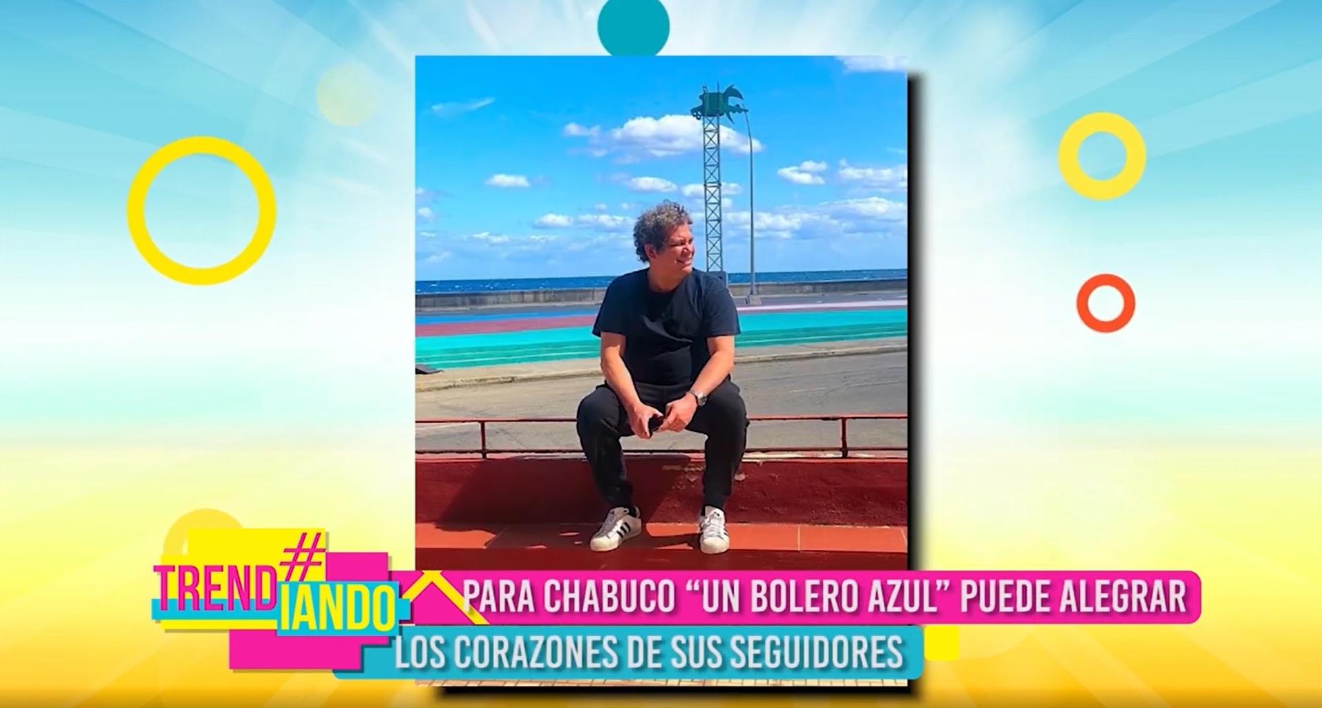 """Hablamos con Chabuco sobre su más reciente sencillo """"Un bolero azul"""""""