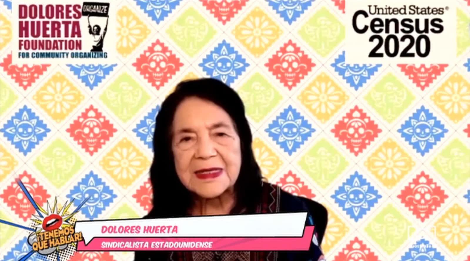 Dolores Huerta celebró su cumpleaños número 90 con un evento benéfico