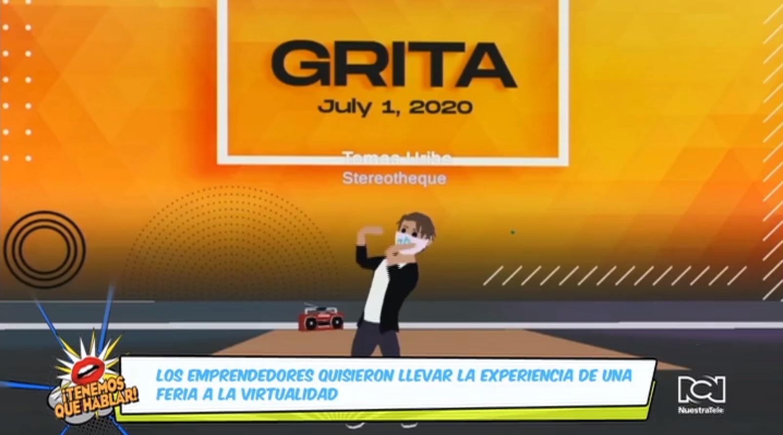 Arrancó la primera edición de Grita: un evento virtual de música, medios y tecnología
