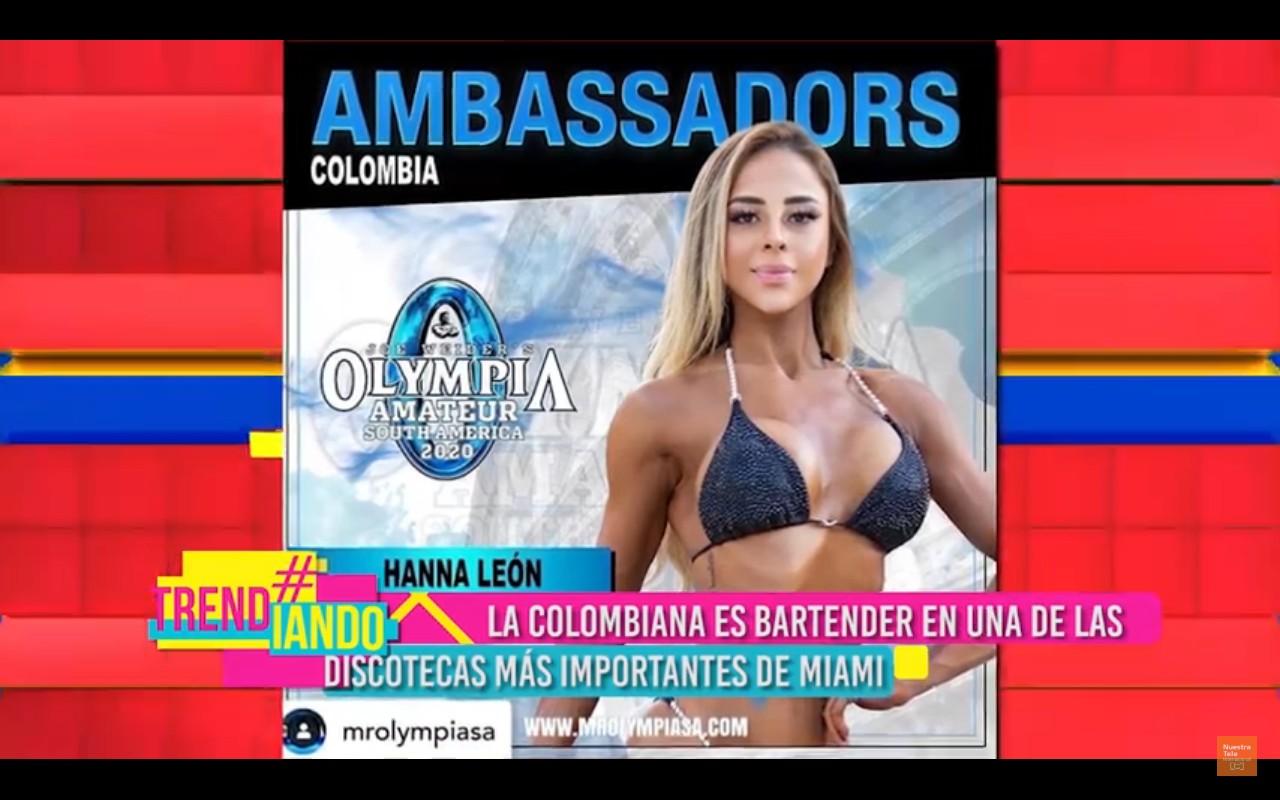 """""""I am colombian"""": Hanna León, la bartender colombiana más reconocida en Miami"""