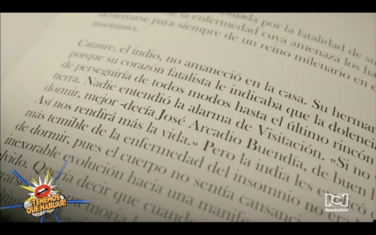 """""""La peste del insomnio"""": el cortometraje que evoca la esperanza en tiempos de Covid-19 con lecturas de Gabriel García Márquez"""