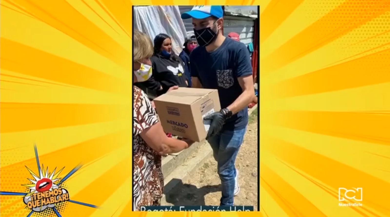 """Fundación """"Caring For Colombia"""" impulsa campaña benéfica para ayudar familias colombianas afectadas por la pandemia"""