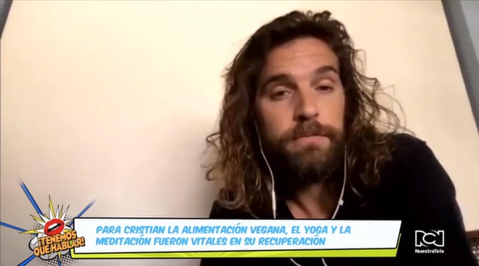 """""""Tengo la oportunidad de compartir mi historia para seguir sanando"""": Cristian Grassi"""