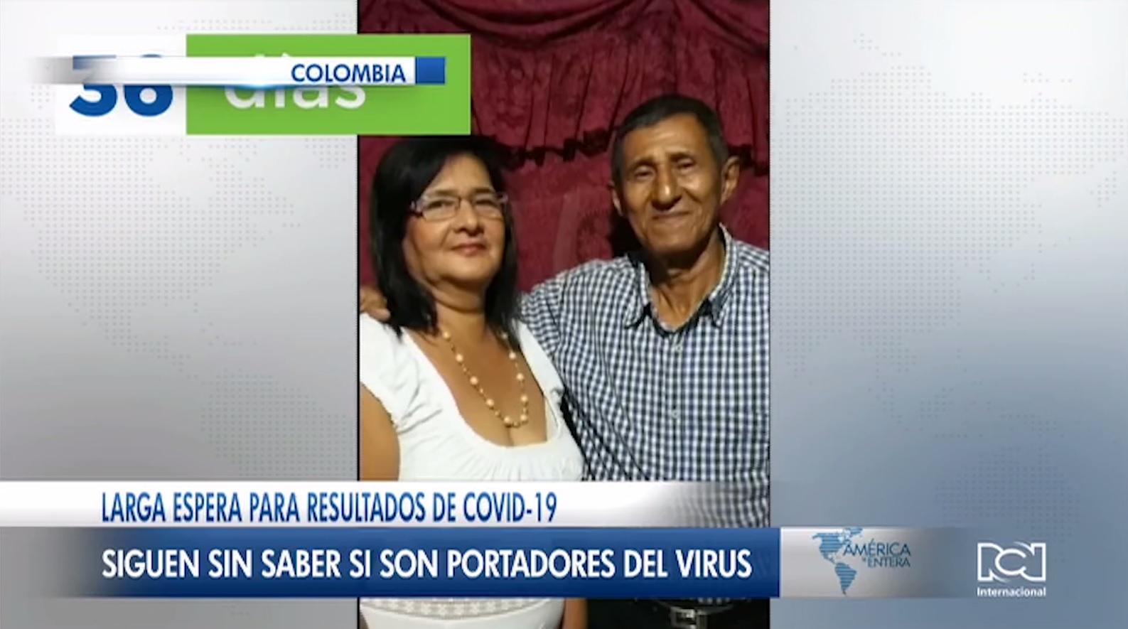 Colombiano con síntomas de coronavirus lleva 36 días esperando los resultados de la prueba Covid-19
