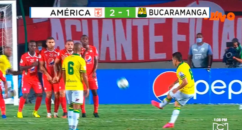 América de Cali consiguió un importante triunfo frente al Atlético Bucaramanga