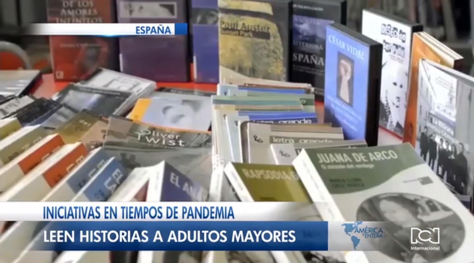 """""""Cuentos por teléfono"""": la linda iniciativa de un bibliotecario para entretener adultos mayores durante la pandemia en España"""