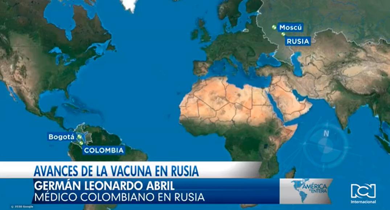 Colombiano participa en los avances de la vacuna contra el COVID-19, en Rusia