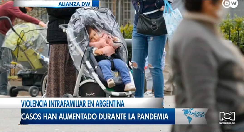 Violencia intrafamiliar en Argentina, los casos han aumentado durante la pandemia