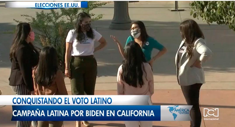 Conquistando el voto latino, grupo de latinas apoyan a Joe Biden