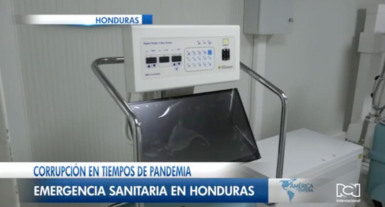 Corrupción en tiempos de pandemia, emergencia sanitaria en Honduras