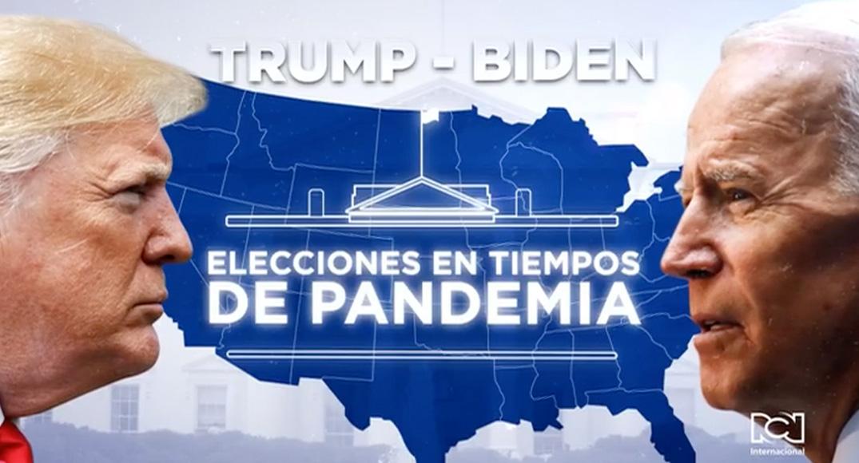 Avanzan actos de campaña en la recta final para la presidencia de Estados Unidos
