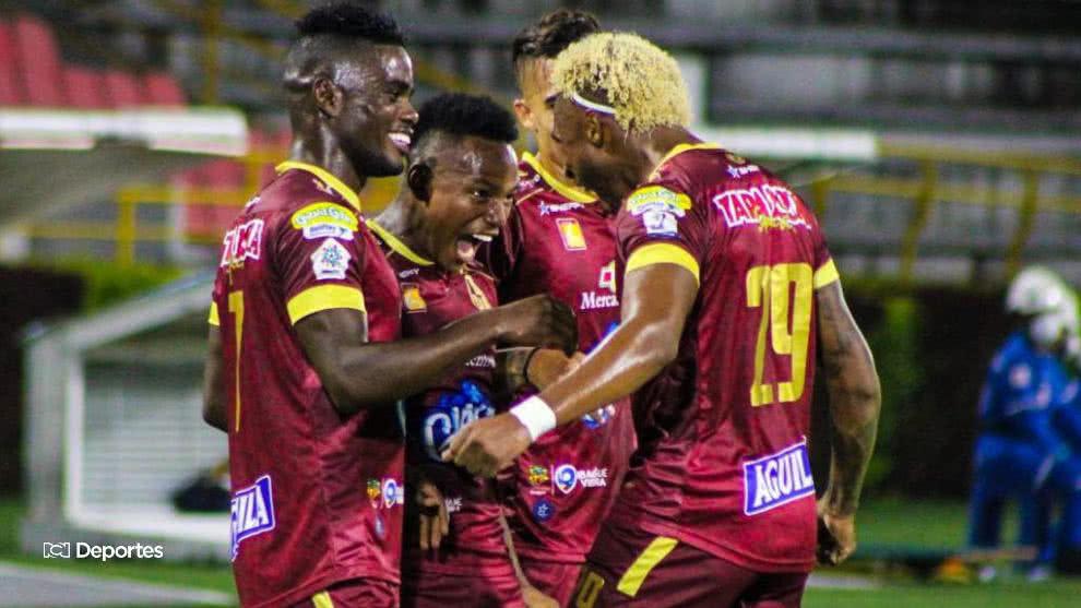 Tolima suma tres puntos en su visita a Cúcuta y es líder solitario de la Liga BetPlay 2020