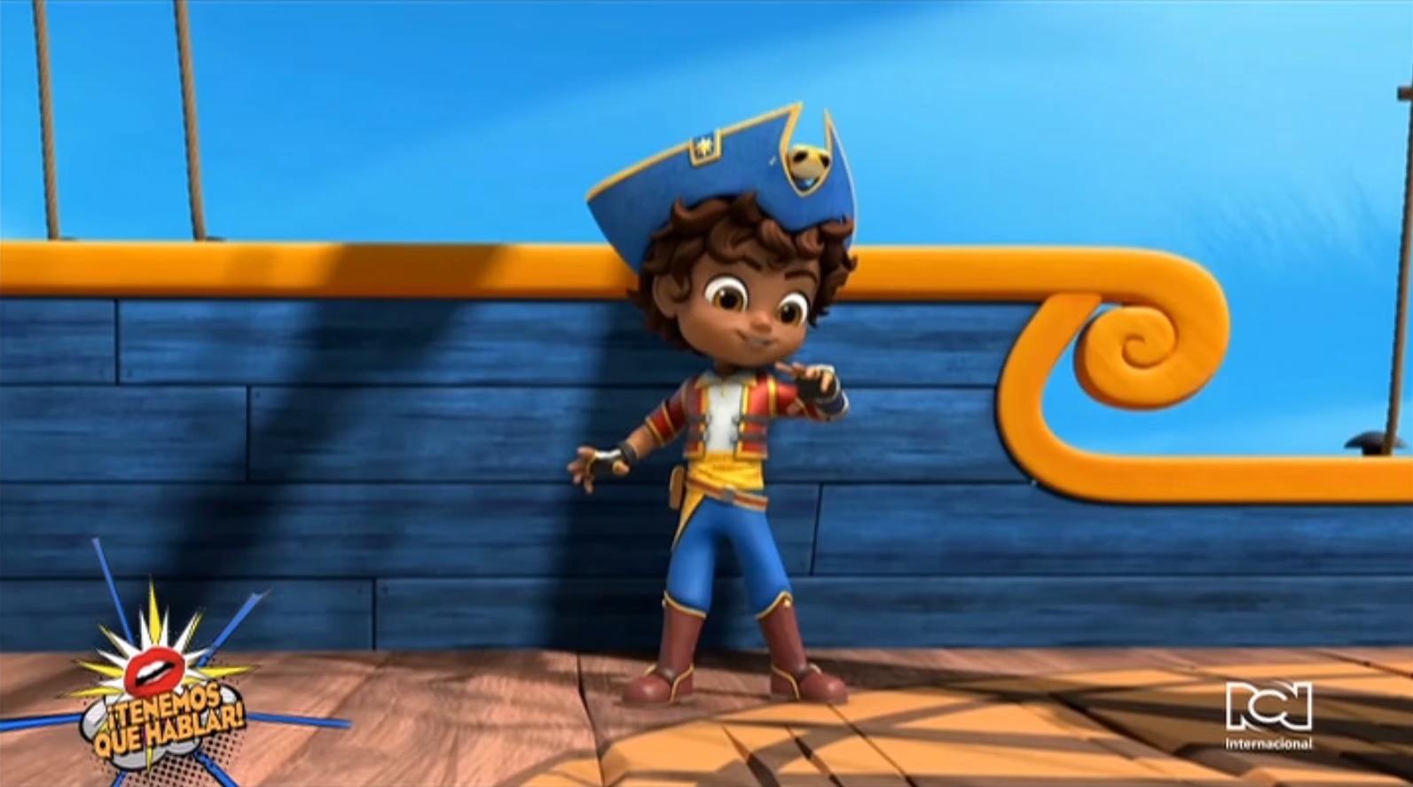 """Leslie Valdes y Valerie Walsh Valdes contaron cómo crearon la serie animada """"Santiago of The Seas"""""""