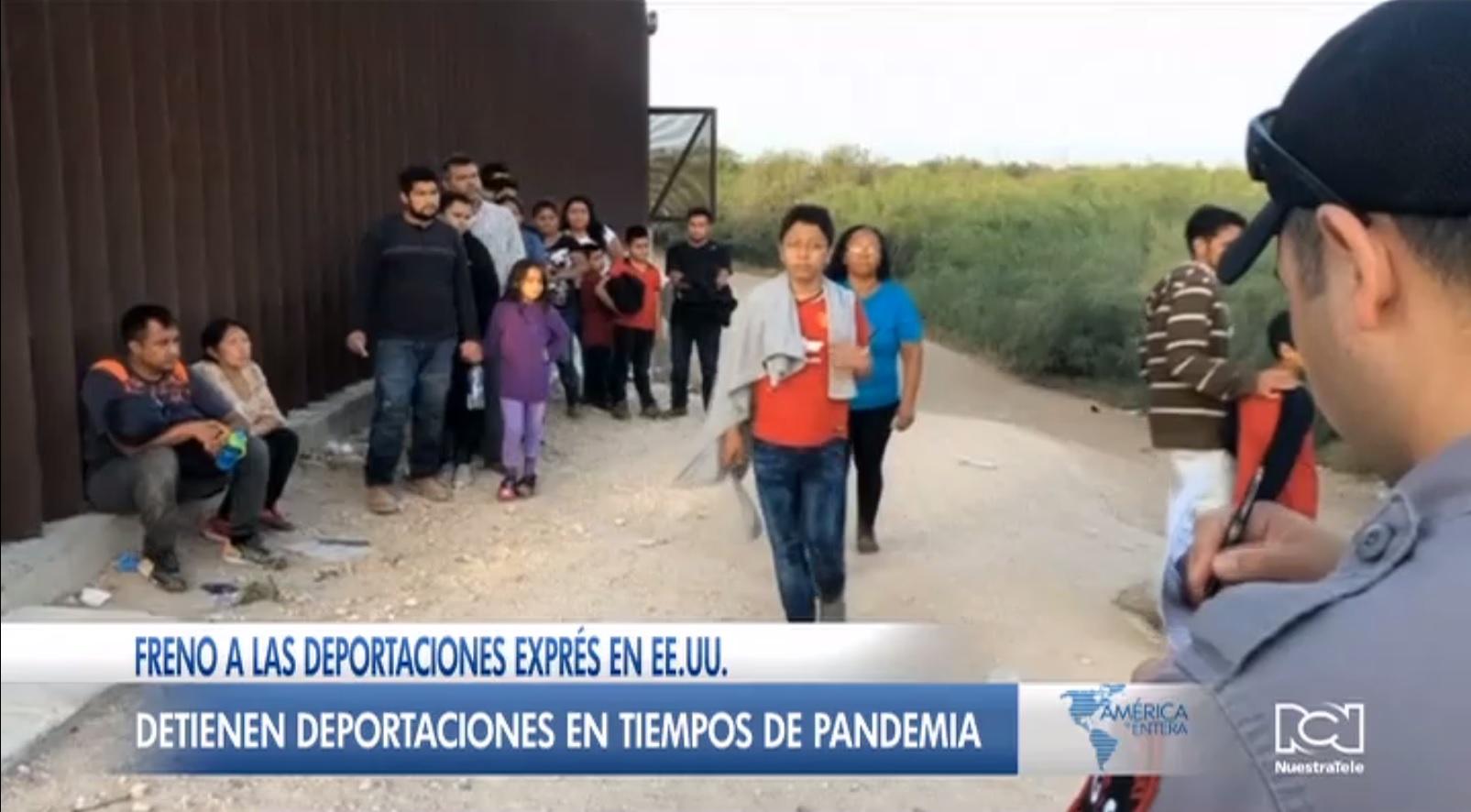 Orden judicial pone freno a las deportaciones exprés de menores de edad en Estados Unidos
