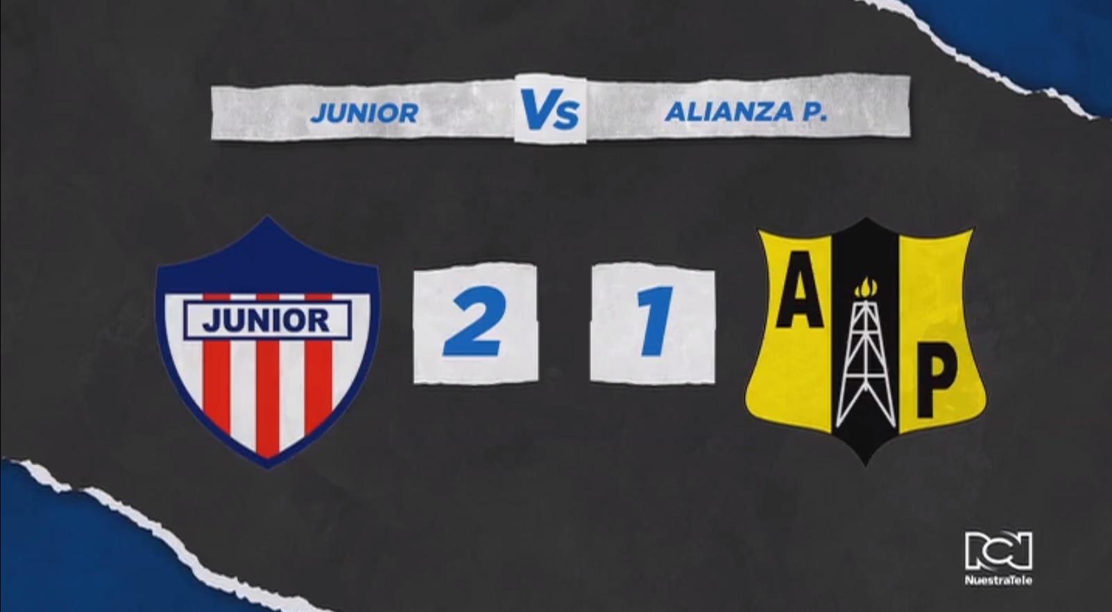 Atlético Junior volvió a saborear el triunfo de local ante Alianza Petrolera