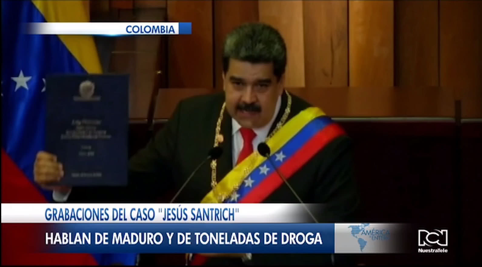 Nicolás Maduro fue mencionado en las grabaciones del caso Jesús Santrich