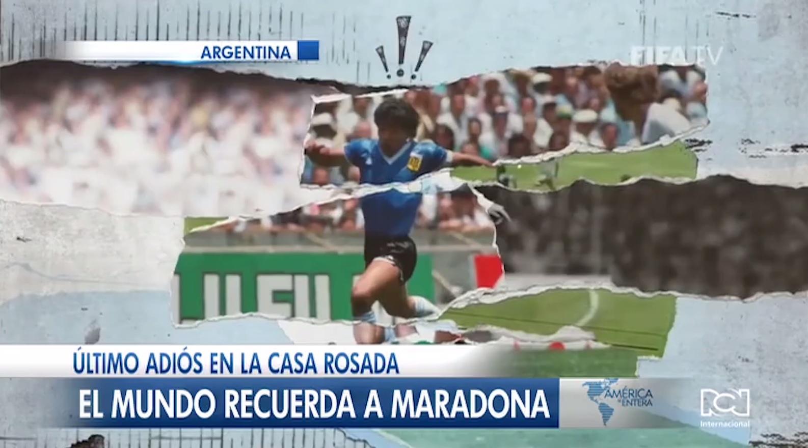 El mundo del fútbol llora la muerte de Diego Armando Maradona