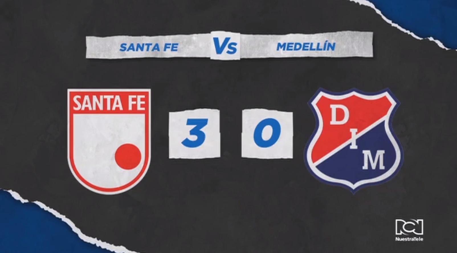 Independiente Santa Fe no baja la guardia ante el DIM y sigue de cerca al Deportes Tolima